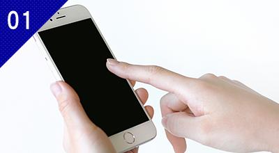 iPhone、iPod touchでオーダーが取れる。